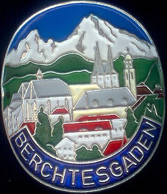 Berchtesgaden new mount badge stocknagel hiking medallion G5284