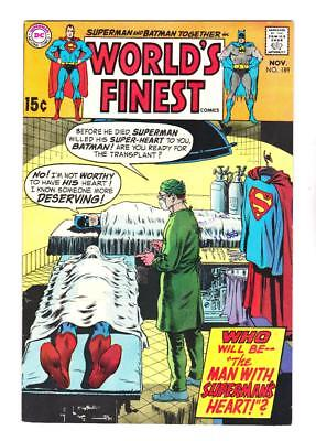 Worlds Finest 189 (Nm-) Lex Luther, Supergirl, Jla  (Ships Free) *