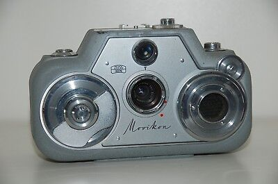 Zeiss Ikon Movikon Normal 8 Film Camera with Light Meter (selenzelle)