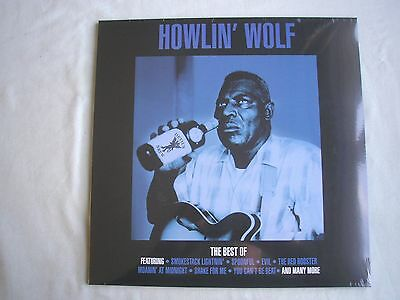 HOWLIN' WOLF The Best Of Howlin' Wolf UK LP 2014 180g new mint sealed