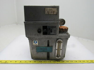 Showa LCB3 0.1 L/Min 15kgf/cm2 3L Capacity Lubrication Pump Tank 100V 50/60Hz