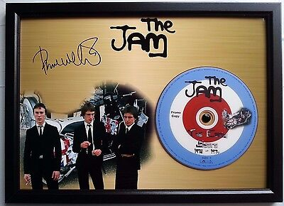 The Jam Unique The Jam Presentation Disc Frame With Cd