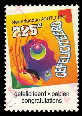 "NETHERLANDS ANTILLES 799 - Greetings Stamps ""Congratulations"" (pf60151)"