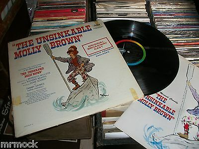 The Unsinkable Molly Brown Vinyl Album With Programme