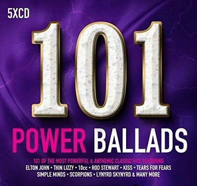 Various Artists - 101 Power Ballads / Various [New CD] Boxed Set, UK - Import