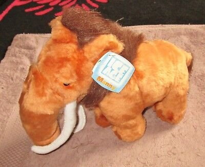 Ice Age Manny The Mammoth Soft Toy  12In Long Bnwt 2002