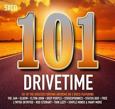 Various Artists - 101 Drivetime / Various [New CD] Boxed Set, UK - Import