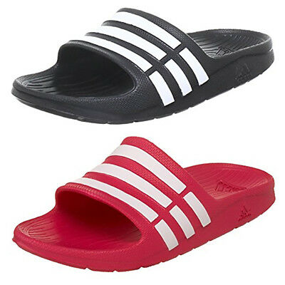 Adidas Duramo Childrens Slide Flip Flops Sandals Kids Pool Beach Shoes Trainers