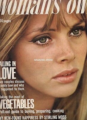 Britt Ekland By Peter Sellers  / Magazine Ref Wo / L