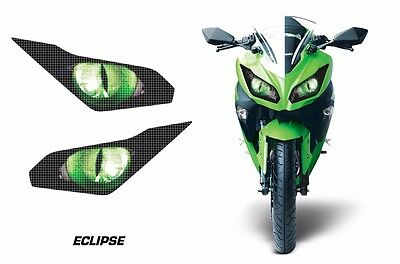 AMR Racing Head Light Eyes Kawasaki Ninja 300 2012-2014 Headlight Parts ECLIPSE