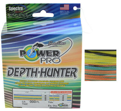 Power Pro Depth Hunter (Multi Colour Braid)