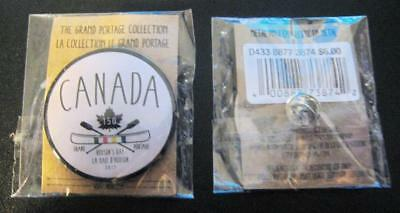 150 Years Of Canada Celebration 2017 The Grand Portage Collection Pin Sealed