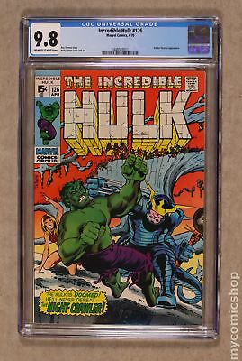 Incredible Hulk (1962-1999 1st Series) #126 CGC 9.8 1448503011