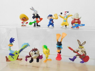 Bugs Bunny Looney Tunes Star Toys Konica 10 x Figur Band Musiker Gitarre