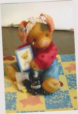 1996 This Little Piggy I Miss You Figurine With Coa And Box