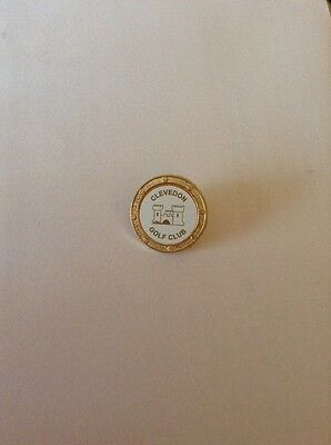 Clevedon Golf Club Ball Marker