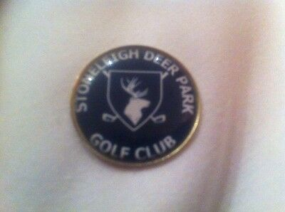 Stoneleigh Deer Park Golf Club Ball Marker