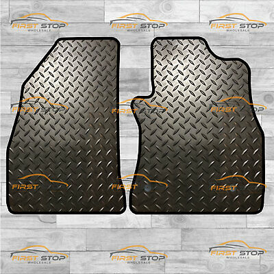 Fiat Doblo Van 2010-On Fully Tailored 3Mm Rubber Heavy Duty Car Floor Mats