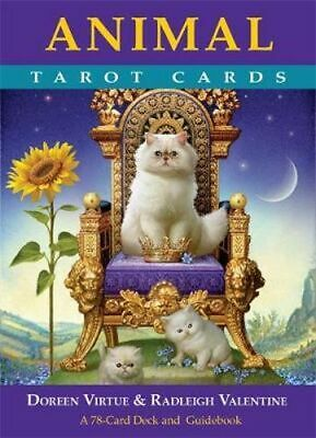 NEW Animal Tarot Cards By Doreen Virtue and Radleigh Valentine Paperback