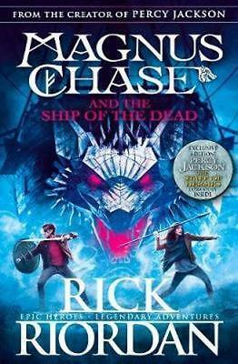 NEW Magnus Chase And The Ship Of The Dead By Rick Riordan Paperback