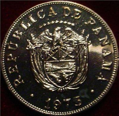Only 17.000 Minted Proof 1973 5 Centesimos Panama**beautiful Coin**