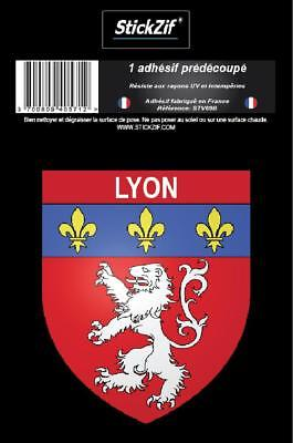 1 Sticker Blason Lyon