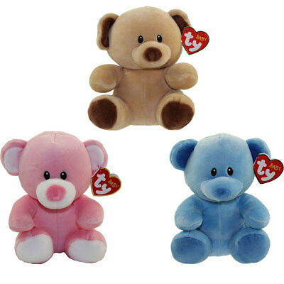 Baby TY - SET of 3 BEARS (Bundles, Lullaby & Princess) (7 inch) BabyTY