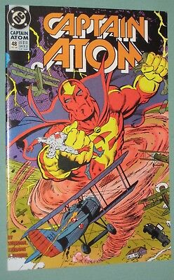 Captain Atom #48 DC Comics 1990 ~ Red Tornado, Phantom Stranger, Ed Hannigan