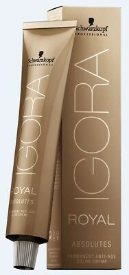 Schwarzkopf Igora Royal Absolutes und Absolutes Age Blend Haarfarbe 60ml