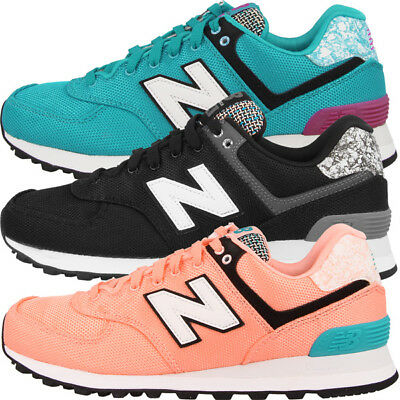 20e0c277d4 New Balance WL 574 Women Schuhe WL574 Damen Art School Freizeit Sneaker ML  KL UL