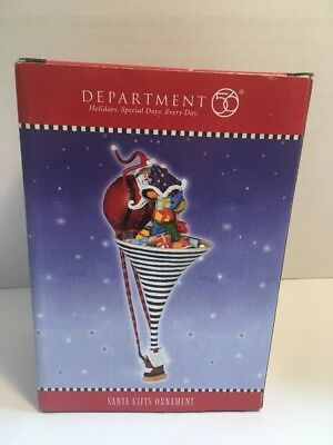 Department 56 Ornament Santas Gifts. Christmas.