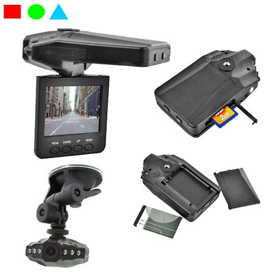 "Mini Dvr Telecamera Videoregistratore Dvr Auto Hd Monitor Lcd 2.5"" 6 Led 720P"