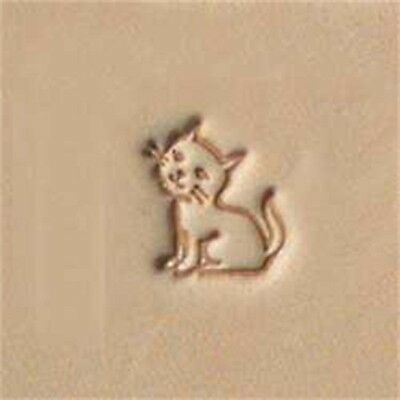E671 Kitten Leather Stamp - Craftool 6667000