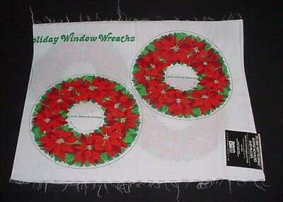 Christmas Window Wreath - FUN SEWABLES
