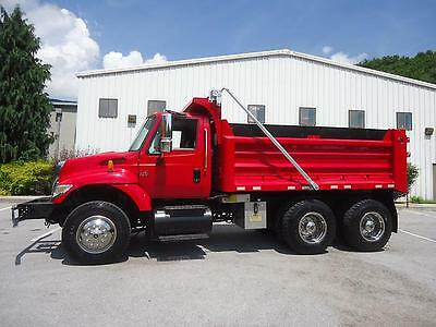 2003 International 7400 Tandem Dump Truck Dt530 Allison Automatic Transmision
