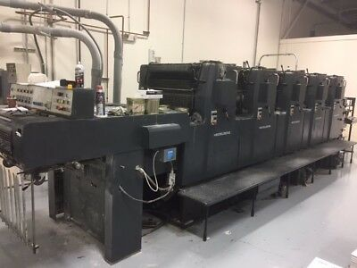 Heidelberg Mofh ,  Year: 1985,  Alcolor Dampening, Cpc 1.02