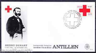 Netherlands 1978 FDC, Red Cross, Henry Dunant