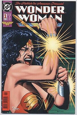 WONDER WOMAN (deutsch) # 1 - (WUNDERGIRL) - DINO VERLAG 1998 - TOP