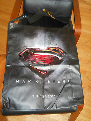 Comic Con Superman Large Bag Laundry Beach Man of Steel