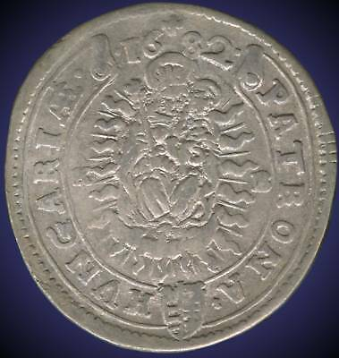 1682 Hungary Coin (Leopold)