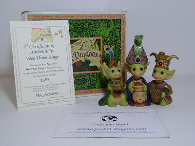 Super Pocket Dragon Wee Three Kings Real Musgrave Boxed L/E 1655 Of 5000 Boxed