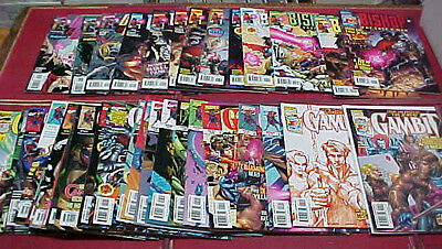 GAMBIT 1,1variant, 2-9,11-19,21-23,Ann & BISHOP 1-9,16 & 3 others / 35 issues *