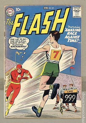 Flash (1959 1st Series DC) #107 VG- 3.5