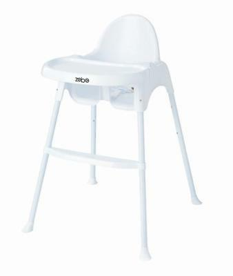 Zobo Summit High Chair - White