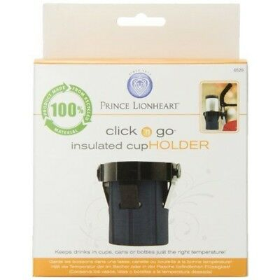 Prince Lionheart Pushchair Cup Holder - Insulated Clips