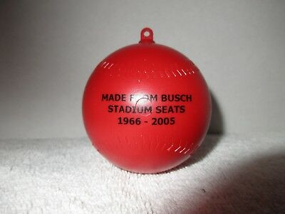 Collectible Busch Stadium Baseball Christmas Ornament Holiday Decorations