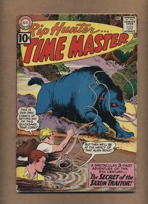 Rip Hunter Time Master #5 (Solid!) Last 10¢ issue; DC Comics; 1961 (c#15567)