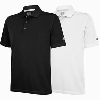 Adidas Climalite MCL Solid Polo Golf Shirt Men's New - Choose Color & Size!