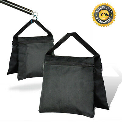 Photography Sandbag 8 x 9 inch Black Photo Video Studio Light Stand Weight Bag