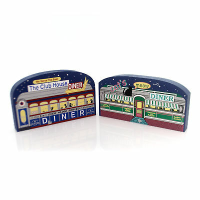 Cats Meow SWEET SIXTEEN DINERS SET / 2 Convention 16 Anniversary 16 Diners Set/2